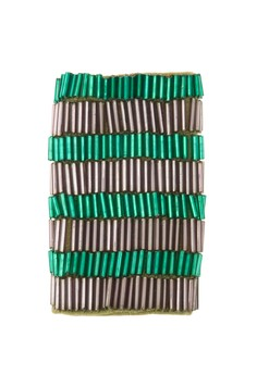 STRAP STYLERS - Purple & Emerald stripes
