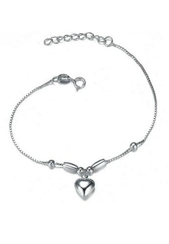 Vivere Rosse silver Love That Bracelet VI014AC34TAZMY_1