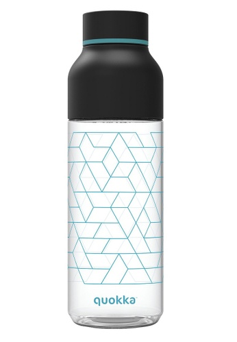 QUOKKA black QUOKKA TRITAN BOTTLE ICE GEO BLACK 720 ML 6B79CAC1D2EBA0GS_1