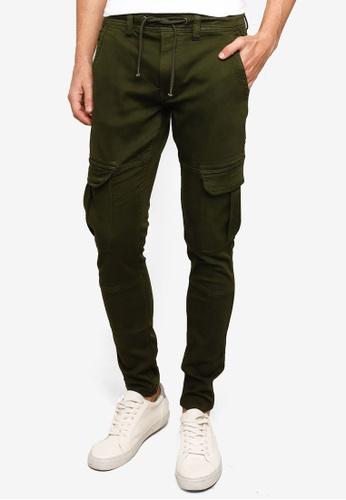 Pepe Jeans green Jones Cargo Jogger Pants 09C03AA1588C11GS_1