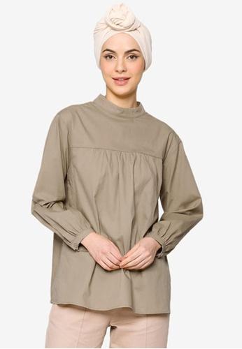 ZALIA BASICS white Back Buttoned Shirt AC462AA32697D4GS_1
