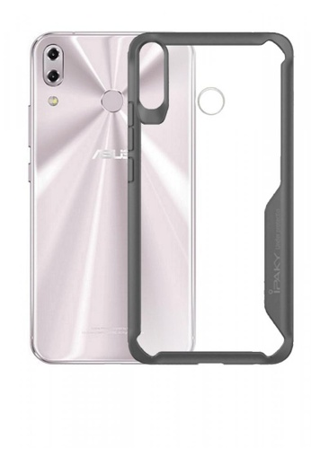 MobileHub grey iPaky Tech Gear Case For ASUS Zenfone 5Z (2018) 6596BAC9E1FC4DGS_1
