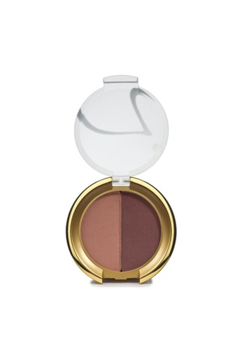 Jane Iredale multi Purepressed Eye Shadow Duo- Antique Rose/ Merlot JA379BE09NRQSG_1