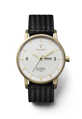 TRIWA black and white and gold Ivory Klinga Black Giza Classic TR990AC27BYQHK_1