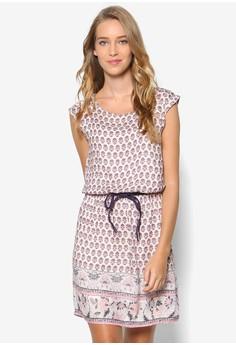 Cap Sleeve Woven Dress