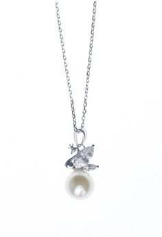 Elemiah Silver Necklace