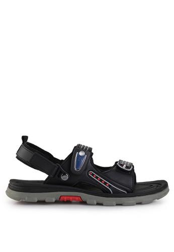 Homyped black Bromo 02 Men Sandal Gunung HO842SH49GYSID_1