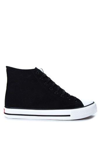Italianos black Lyle Sneakers IT153SH89OPIPH_1