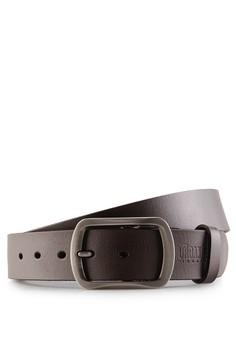 harga Frame Pinbuckle Leather Belt Zalora.co.id
