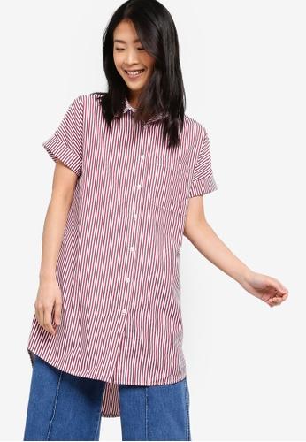 ZALORA BASICS multi Basic Long Shirt 7E714AA80B11B6GS_1