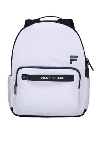Buy Fila White Line Heritage Backpack Online on ZALORA Singapore