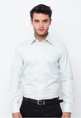 Gianni Paolo blue Men's Long Sleeve Shirt FABGP 157 B6AD7AA7379E8DGS_1