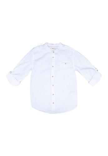 FOX Kids & Baby white Kids Boy Long Sleeves Shirt 7D32EKADF200E5GS_1