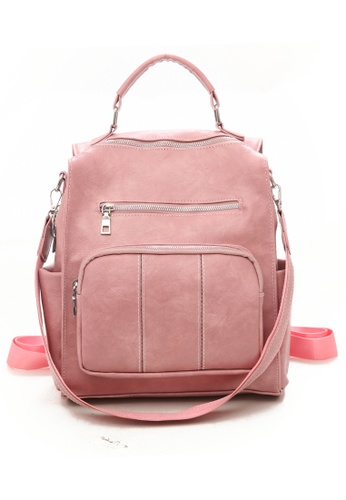 Twenty Eight Shoes Faux Leather Fashionable Backpack ZDL0308 1DD9CACAFCF16DGS_1