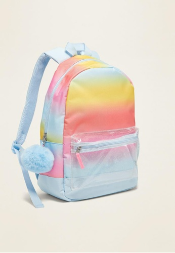 Old Navy multi Printed Backpack for Girls A4777KCB6D7EDEGS_1