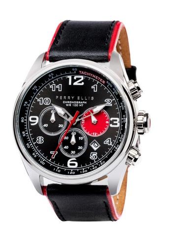 PERRY ELLIS black and red Perry Ellis GT Men Chronograph 44mm Quartz Watch 01001-01 C970FAC54FD91DGS_1