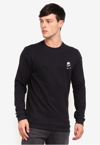 Jack & Jones black Crew Neck Sweatshirt 4C1C6AAF05650DGS_1