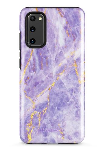 Polar Polar purple Princess Purple Samsung Galaxy S20 5G Dual-Layer Protective Phone Case (Glossy) 363F9AC1CE190FGS_1
