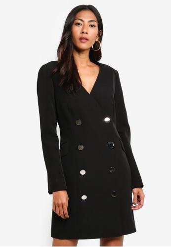 Forever New black Blake Blazer Dress A49A7AA74975CEGS_1