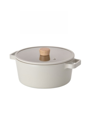 Neoflam NEOFLAM Fika 24cm Casserole with Xtrema Ceramic Coating (Incl. Silicone Glass Lid) DC205HL68CE838GS_1