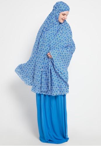 Tatuis blue and multi Azahra Lamia E5953AA9AF2C4FGS_1