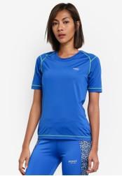 2GO blue Round Neck Short Sleeve T-Shirt 2G729AA0S5XGMY_1
