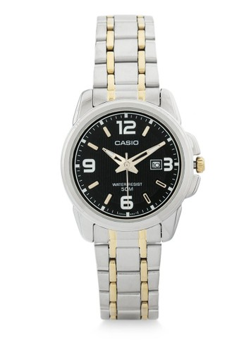 Casio gold and silver Casio Jam Tangan Wanita - Silver Gold Black - Stainless Steel - LTP-1314SG-1AVDF E809CAC2332737GS_1