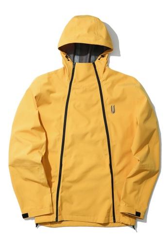 Fivecm yellow Patch pocket zip jacket 05D7BAA79CCD7BGS_1