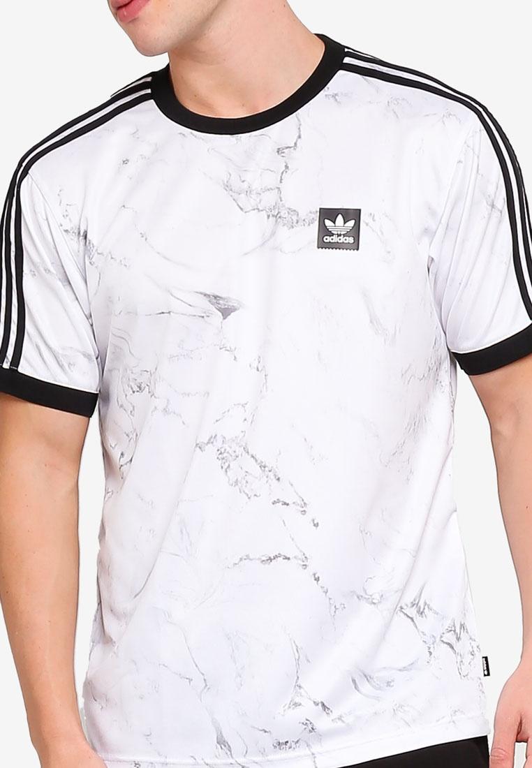 originals clb White adidas mrble Black Solid adidas aop Grey tee dRft7qf
