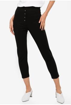 5a283734387 TOPSHOP black Skinny Capri Trousers FE32AAA4AC34D6GS 1