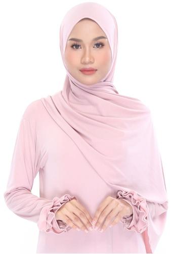 MILLA pink Shawleha Hijab 80952AA53BA11EGS_1
