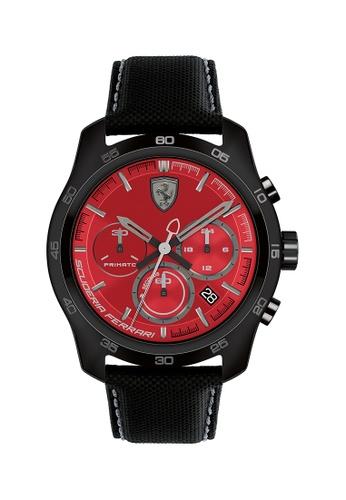 Scuderia Ferrari red Scuderia Ferrari Primato Red Men's Watch (0830447) 24D5EAC9F44373GS_1