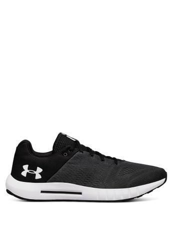 Under Armour black UA Micro G Pursuit Shoes UN337SH0SU8ZMY_1
