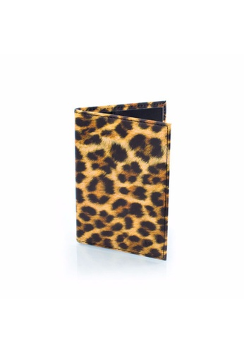 Heys Philippines brown Leopard Passport Holder HE581AC68DOHPH_1