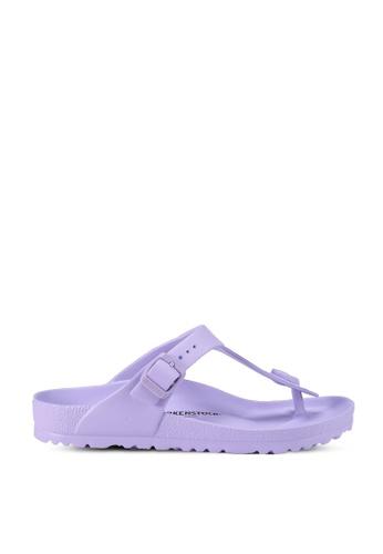 Birkenstock purple Gizeh EVA Sandals 0CC9DSH4DC4BA4GS_1