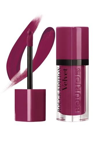 Bourjois Rouge Edition Velvet Lipstick #14 Plum Plum Girl (Exp: Late 2020 onwards) BO885BE69MXUSG_1