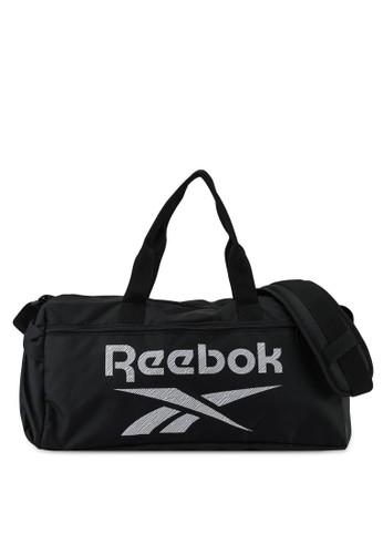 Reebok black Workout Ready Functional Grip Bag A0B68AC9BFC33BGS_1