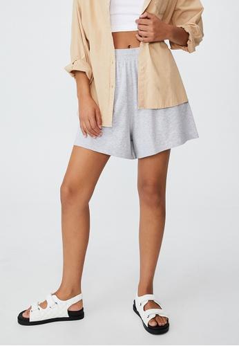 Cotton On grey Courtside Shorts 0BBADAA1120EBCGS_1