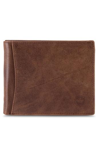 Lumberjacks brown Lumberjacks Genuine Leather Wallet LU545AC85PCCMY_1