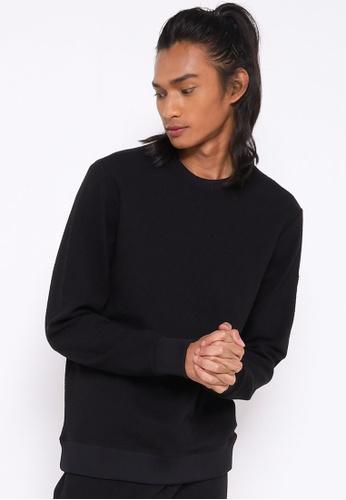 Guess black Alpine Performance Sweatshirt 8632EAAD188CE4GS_1