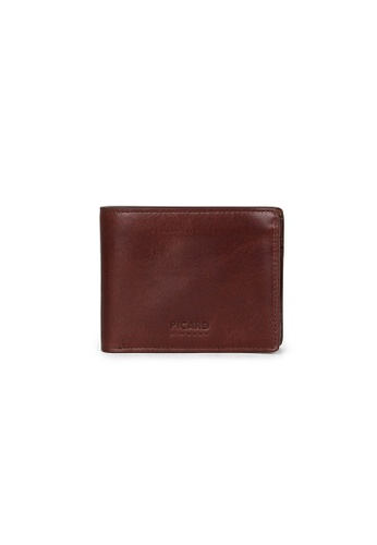 Picard brown Picard Teuer Bifold Wallet with Coin Pouch 4F36AACC973F22GS_1