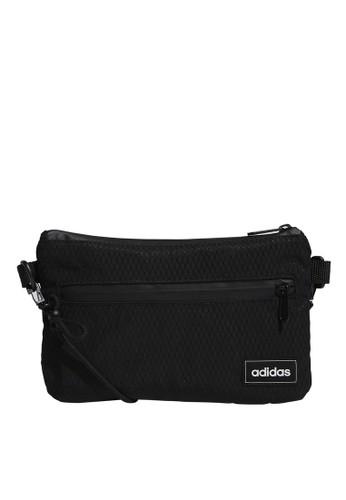 ADIDAS black street satchel A1D38ACD6D8957GS_1
