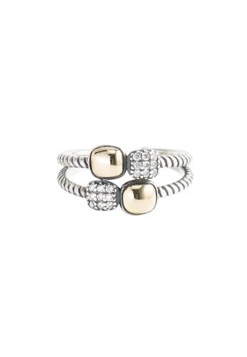 OrBeing white Premium S925 Sliver Geometric Ring 89C84AC93BD854GS_1