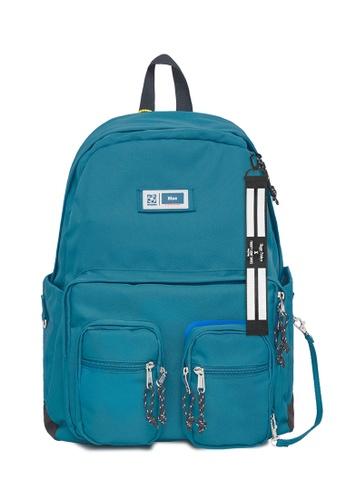 Twenty Eight Shoes blue 2021 High Capacity Printed Backpack 215AI2019 DE719ACDF1DB77GS_1