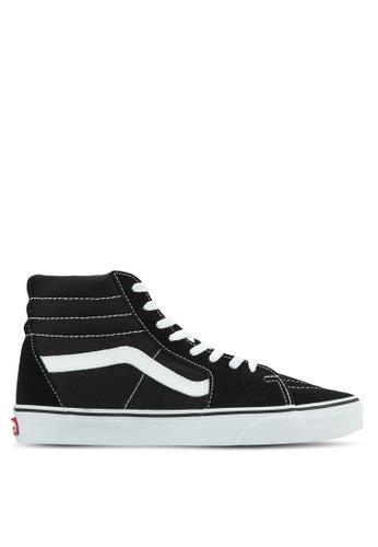 VANS black Core Classic SK8-Hi Sneakers VA142SH0RZO7MY_1