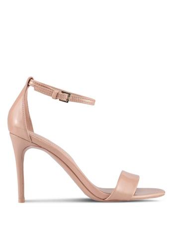 ALDO pink Cally Heeled Sandals 096C0SHF1E089FGS_1