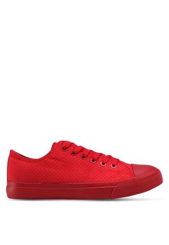 Rubi red Jodi Low Rise Sneakers DEEC0SH9362E0CGS_1