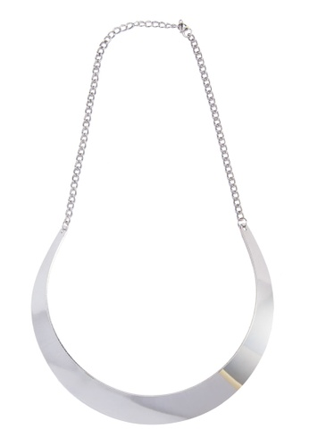Zolace silver Make Your Own Path Collar Necklace ZO350AC15AOAMY_1