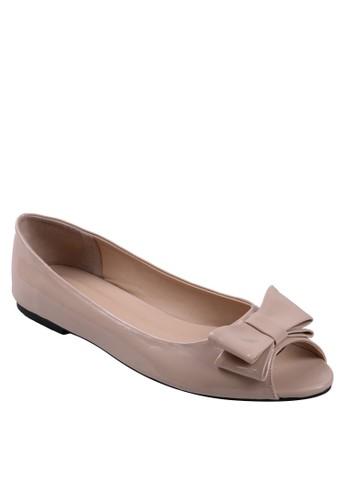 Beauty Shoes beige Tribon Beauty Flat Beige BE516SH26ZCVID_1