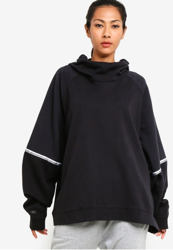 Under Armour black Unstoppable Double Knit OS Hoodie 3D176AAEB5C754GS_1